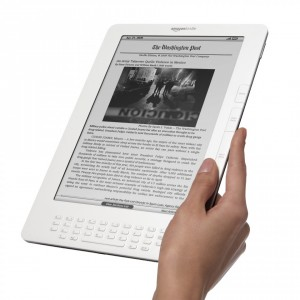 Amazons neuer E-Book-Reader Kindle DX